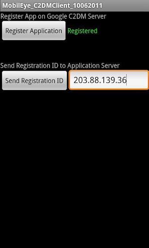 C2DMClientApplication