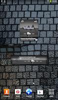 Screenshot of Poweramp widget Silver Glas