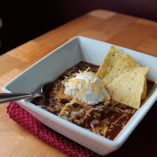 Chunky Style Beef and Beans Chili