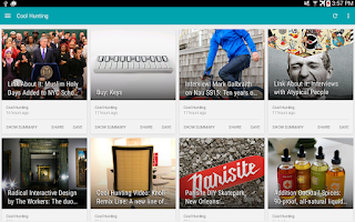 Screenshot of PaperBoy : A Feedly NewsReader