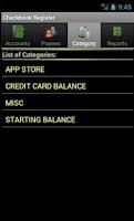 Screenshot of (Demo) Checkbook Register
