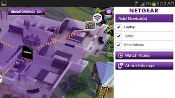 Screenshot of Warp Speed WiFi