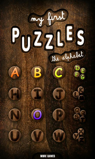 First Kids Puzzles: Alphabet