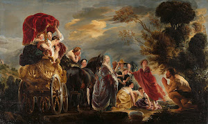 RIJKS: Jacob Jordaens (I): The Meeting of Odysseus and Nausicaa 1640