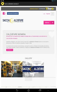 Calzature Novara - screenshot