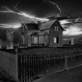 Stormy by Dave Bower - Buildings & Architecture Decaying & Abandoned (  )