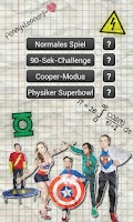 Screenshot of The Big Bang Theory Quiz De