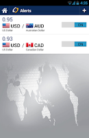 Screenshot of Forex Currency Converter