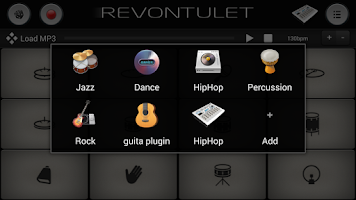 Screenshot of New HipHop Drum Sound Plugin