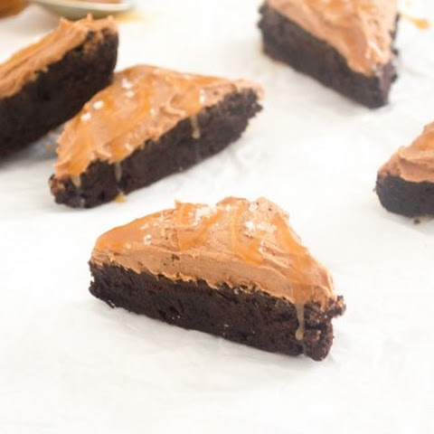 Salted Caramel Cocoa Brownies