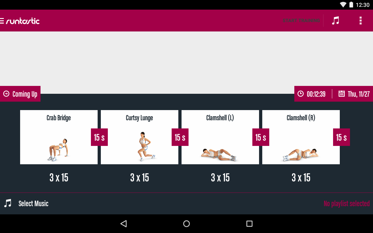 Runtastic Butt Trainer Workout Screenshot 14