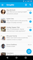 Screenshot of GroupMe