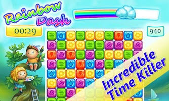 Screenshot of Rainbow Dash Match 3 Saga Free