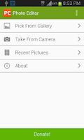 Screenshot of Quick Photo Editor