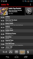 Screenshot of SomaFM Radio Player