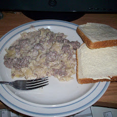 Miracle Whip Easy Hamburger Stroganoff