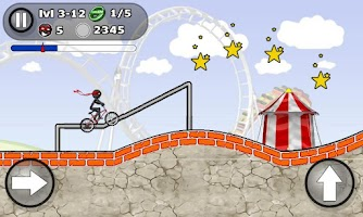 Screenshot of StickMan BMX Stunts Bike