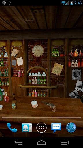 Saloon 3D Live Wallpaper