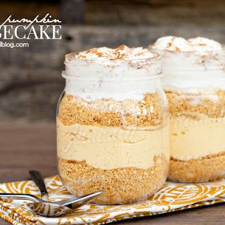 Easy No Bake Pumpkin Cheesecake