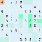 Sudoku number game free icon