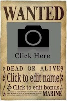 Screenshot of Wanted Poster Maker