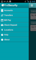 Screenshot of First Security Bank