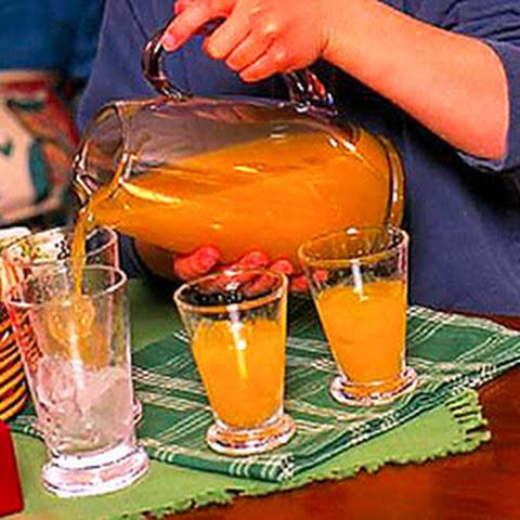 Warm Cranberry Citrus Drink