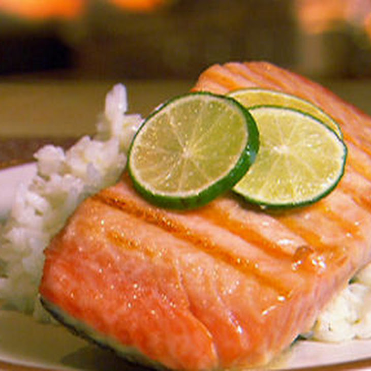 Indoor-grilled Salmon