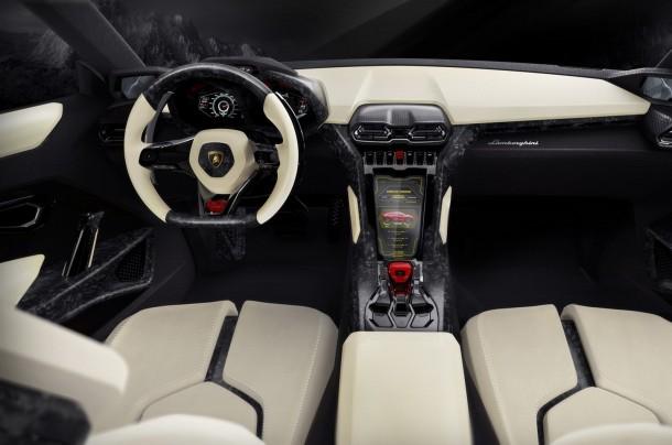 Lamborghini Urus SUV interior