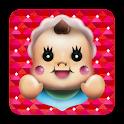 baby rattle bab bab icon