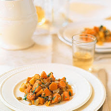 Warm Carrot and Lentil Salad