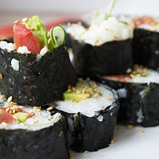 Vegan Tuna Sushi
