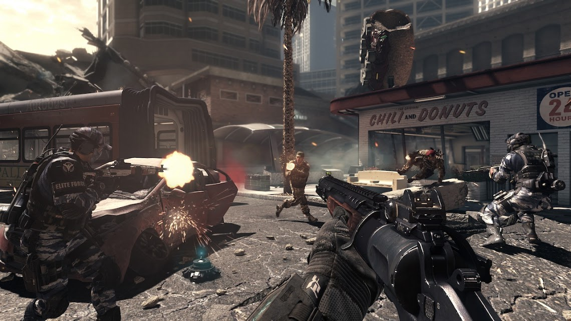 Call Of Duty: Ghosts double XP weekend begins on Friday