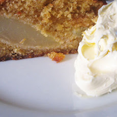 Pear And Almond Pudding Cake