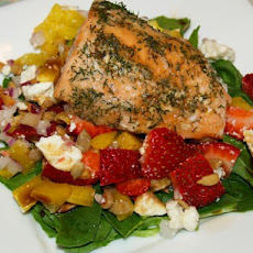 Colorful Salmon Salad
