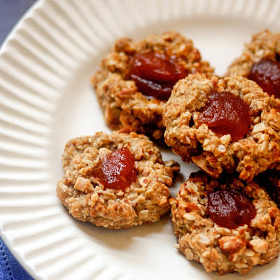 Life-Changing Vegan Thumbprint Cookies