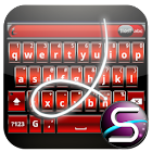 SlideIT Red Metal Skin icon
