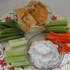 Herb and Vegie Yoghurt Dip