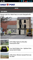 Screenshot of Wales Daily Post App