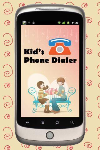 Kids Phone Dialer