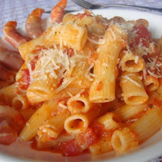 Penne With Sun-Dried Tomato Vodka Sauce