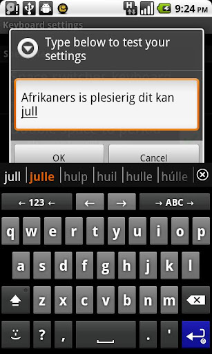 Afrikaans for AnySoftKeyboard