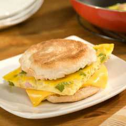 how to make a western egg sandwich