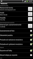 Screenshot of Tracker