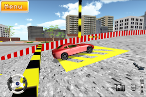 Screenshot of drivingschool3d