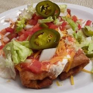 Shredded Beef Chimichangas Recipes