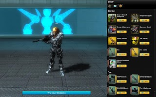 Screenshot of UberStrike: The FPS