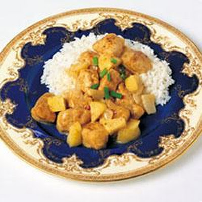 Red Curried Chicken