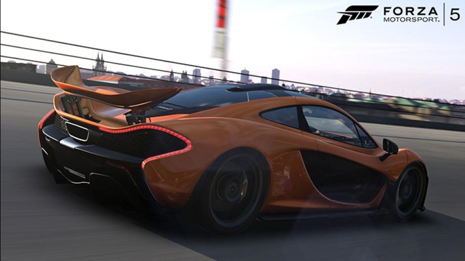 Mclaren P1 back Forza Motorsport 5