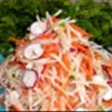 Ginger, Carrot, and Daikon Salad